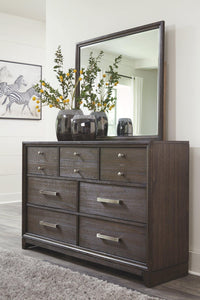 Brueban Dresser and Mirror B497B1 By Ashley Furniture from sofafair