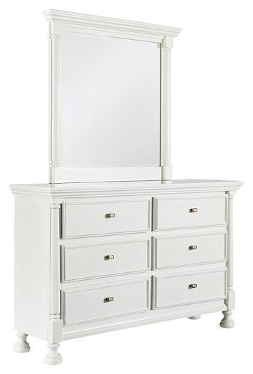 Kaslyn Dresser and Mirror B502B1 Youth Bed Cases By ashley - sofafair.com