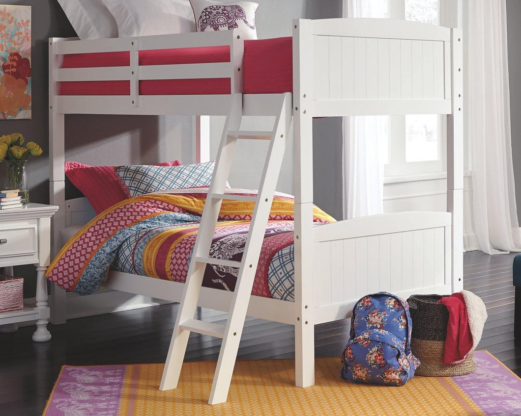 Kaslyn Twin over Twin Bunk Bed B502B15 Girls Bedroom Furniture By Ashley Furniture from sofafair