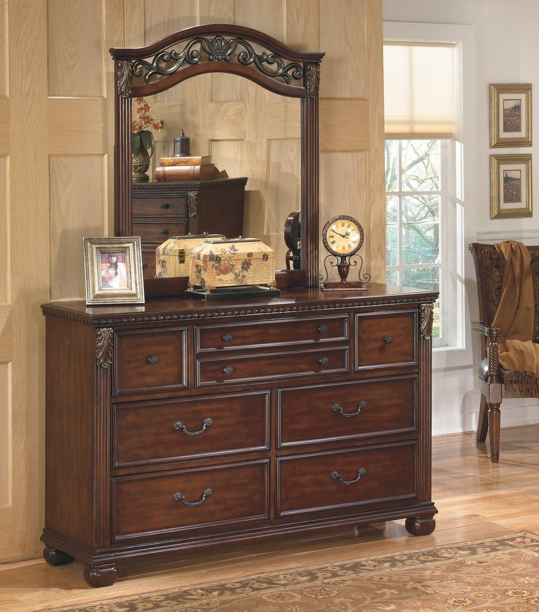 Leahlyn Dresser and Mirror B526B1 By Ashley Furniture from sofafair
