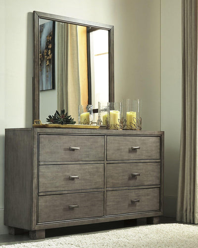 Arnett Dresser and Mirror B552B1 By Ashley Furniture from sofafair
