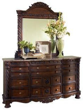 Load image into Gallery viewer, North Shore Dresser and Mirror B553B35