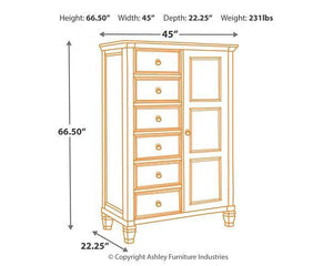 Prentice Chest of Drawers B672-48