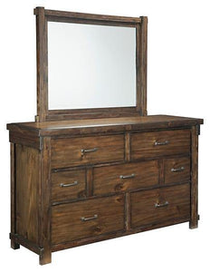 Lakeleigh Dresser and Mirror B718B1