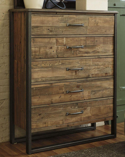Sommerford Chest of Drawers B775-46 By Ashley Furniture from sofafair