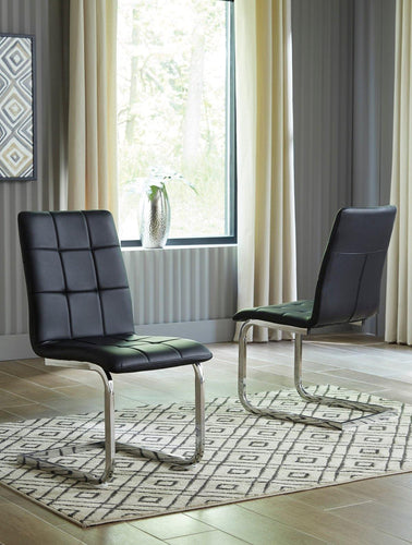 Madanere Dining Room Chair D275-01 By Ashley Furniture from sofafair