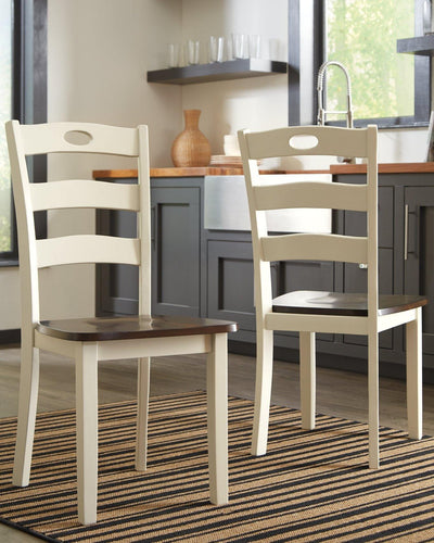 Woodanville Dining Room Chair D335-01 By Ashley Furniture from sofafair