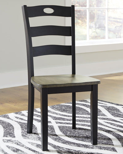 Froshburg Dining Room Chair D338-01 By Ashley Furniture from sofafair