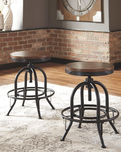 Valebeck Counter Height Bar Stool D546-224 By Ashley Furniture from sofafair