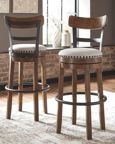 Valebeck Bar Height Bar Stool D546-430 By Ashley Furniture from sofafair