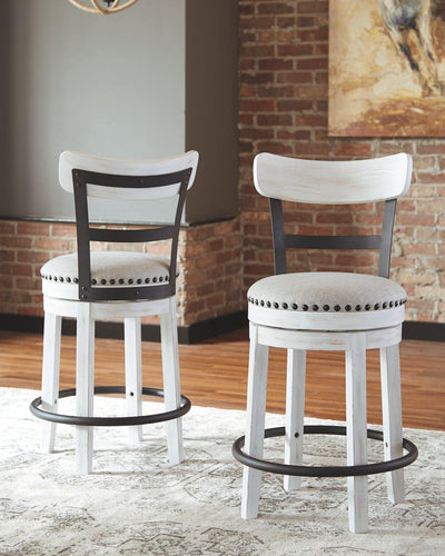 Valebeck Counter Height Bar Stool D546-524 By Ashley Furniture from sofafair