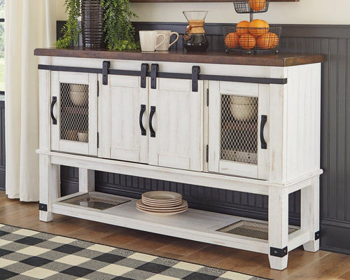 Valebeck Dining Room Server D546-60 By Ashley Furniture from sofafair