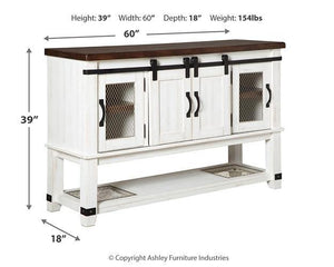 Valebeck Dining Room Server D546-60