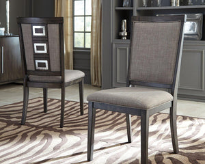 Chadoni Dining Room Chair D624-01 By Ashley Furniture from sofafair
