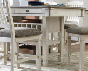 Bolanburg Counter Height Dining Room Table D647-32 By Ashley Furniture from sofafair