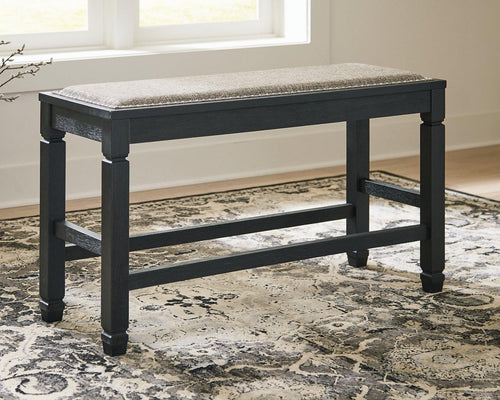 Tyler Creek Counter Height Dining Room Bench D736-09 By Ashley Furniture from sofafair
