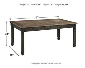 Tyler Creek Dining Room Table D736-25