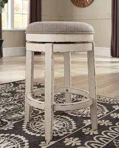 Realyn Counter Height Bar Stool D743-024 By Ashley Furniture from sofafair
