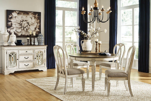 Realyn Dining Room Extension Table D743-35 By Ashley Furniture from sofafair