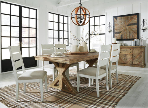 Grindleburg Dining Room Table D754-125 By Ashley Furniture from sofafair