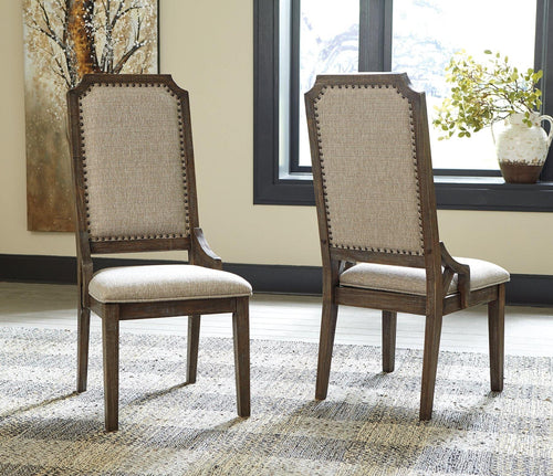 Wyndahl Dining Room Chair D813-02 By Ashley Furniture from sofafair