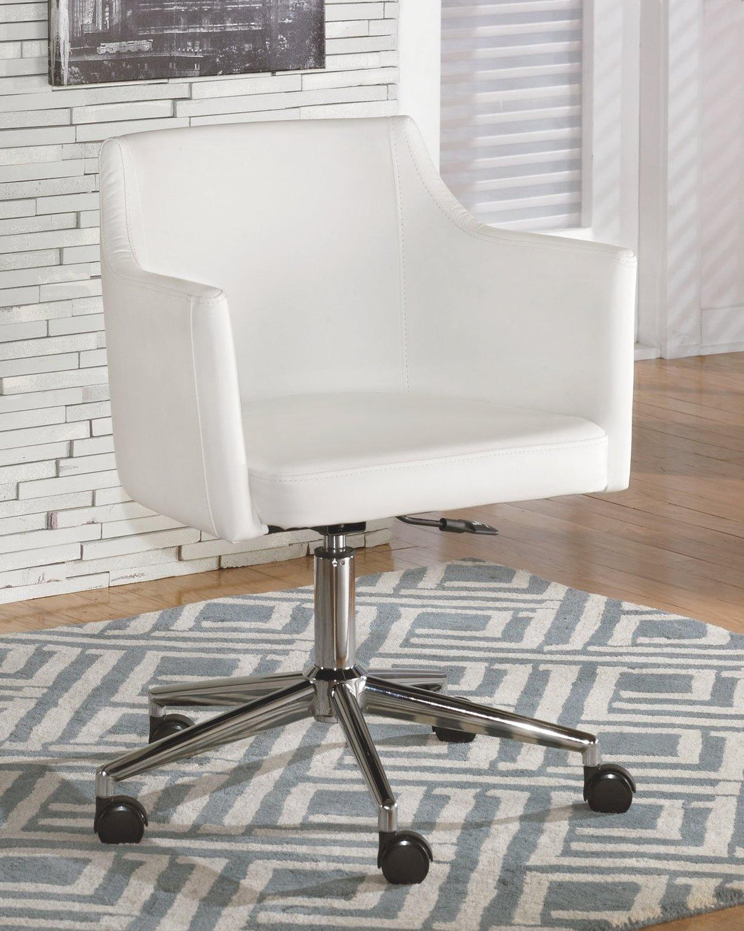 Baraga Home Office Desk Chair H410-01A By Ashley Furniture from sofafair
