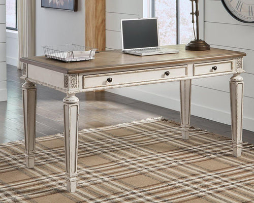 Realyn 60 Home Office Desk H743-34 By Ashley Furniture from sofafair