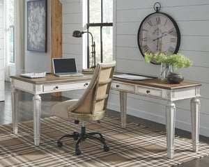 Realyn 2Piece Home Office Desk H743H1