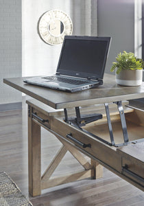 Aldwin Home Office Lift Top Desk H837-54