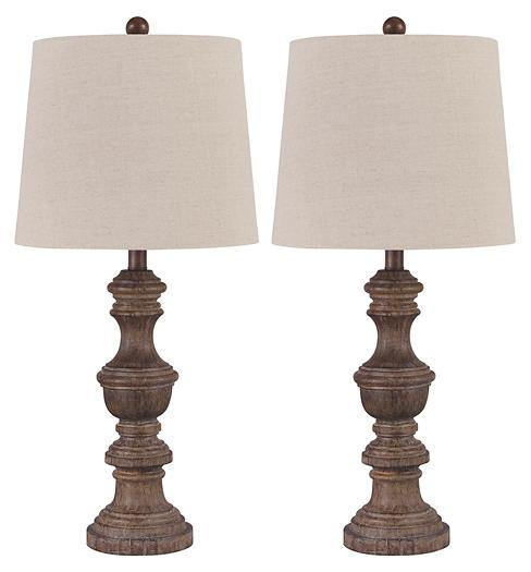 Magaly Table Lamp Set of 2 L276024 Table Lamps By ashley - sofafair.com