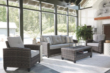 Load image into Gallery viewer, Cloverbrooke 4Piece Outdoor Conversation Set P334-081 Seating