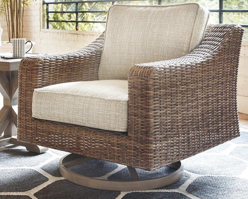 Beachcroft Swivel Lounge Chair P791-821 By Ashley Furniture from sofafair