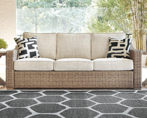 Beachcroft Sofa with Cushion P791-838 Seating By Ashley Furniture from sofafair