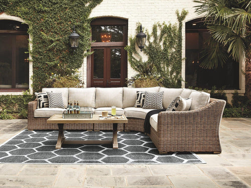 Beachcroft 4Piece Outdoor Seating Set P791P7 By Ashley Furniture from sofafair