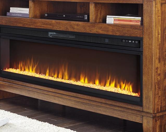 Entertainment Accessories Electric Fireplace Insert W100-22 Fireplaces By ashley - sofafair.com
