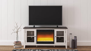 Dorrinson 60 TV Stand with Electric Fireplace W287W2 By Ashley Furniture from sofafair