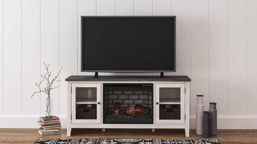 Dorrinson 60 TV Stand with Electric Fireplace W287W3 By Ashley Furniture from sofafair