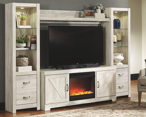 Bellaby 4Piece Entertainment Center with Fireplace W331W5 By Ashley Furniture from sofafair