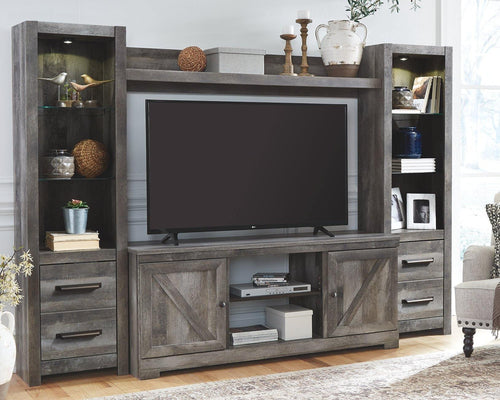 Wynnlow 4Piece Entertainment Center W440W2 By Ashley Furniture from sofafair