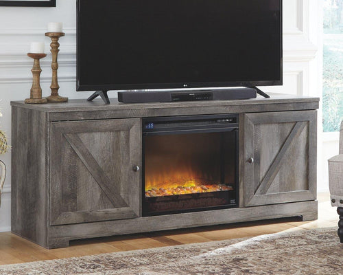 Wynnlow 63 TV Stand with Electric Fireplace W440W4 By Ashley Furniture from sofafair