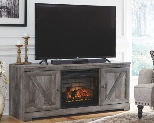 Wynnlow 63 TV Stand with Electric Fireplace W440W9 By Ashley Furniture from sofafair