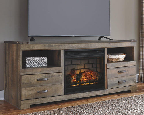 Trinell 63 TV Stand with Electric Fireplace W446W9 By Ashley Furniture from sofafair