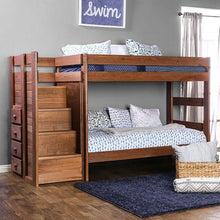 Load image into Gallery viewer, Ampelios AM-BK102 Twin/Twin Bunk Bed By Furniture Of America from sofafair