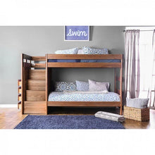 Load image into Gallery viewer, Ampelios AM-BK102 Twin/Twin Bunk Bed