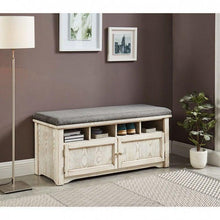 Load image into Gallery viewer, Gwebdolyn - CM-AC308WH - Accent - Bench  Ottoman