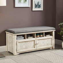 Load image into Gallery viewer, CM-AC308WH,Gwebdolyn,foa,furniture,modern,sofafair,Accent > Bench  Ottoman
