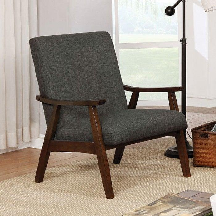 Deena CM-AC5708DG Accent Chair By Furniture Of AmericaBy sofafair.com