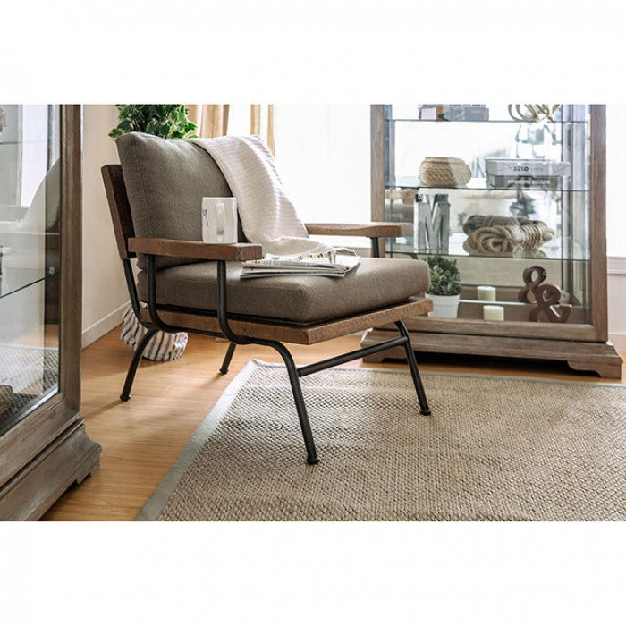Santiago CM-AC6077 Accent Chair By Furniture Of AmericaBy sofafair.com