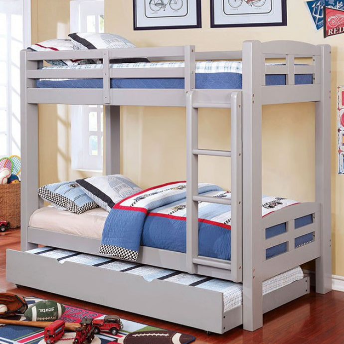 CM-BK618T-GY,Solpine,foa,furniture,modern,sofafair,Youth > Bunk Bed