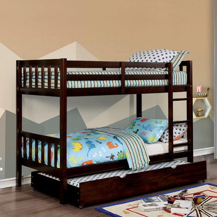 Emilie CM-BK633EX-TT Twin/Twin Bunk Bed By Furniture Of AmericaBy sofafair.com